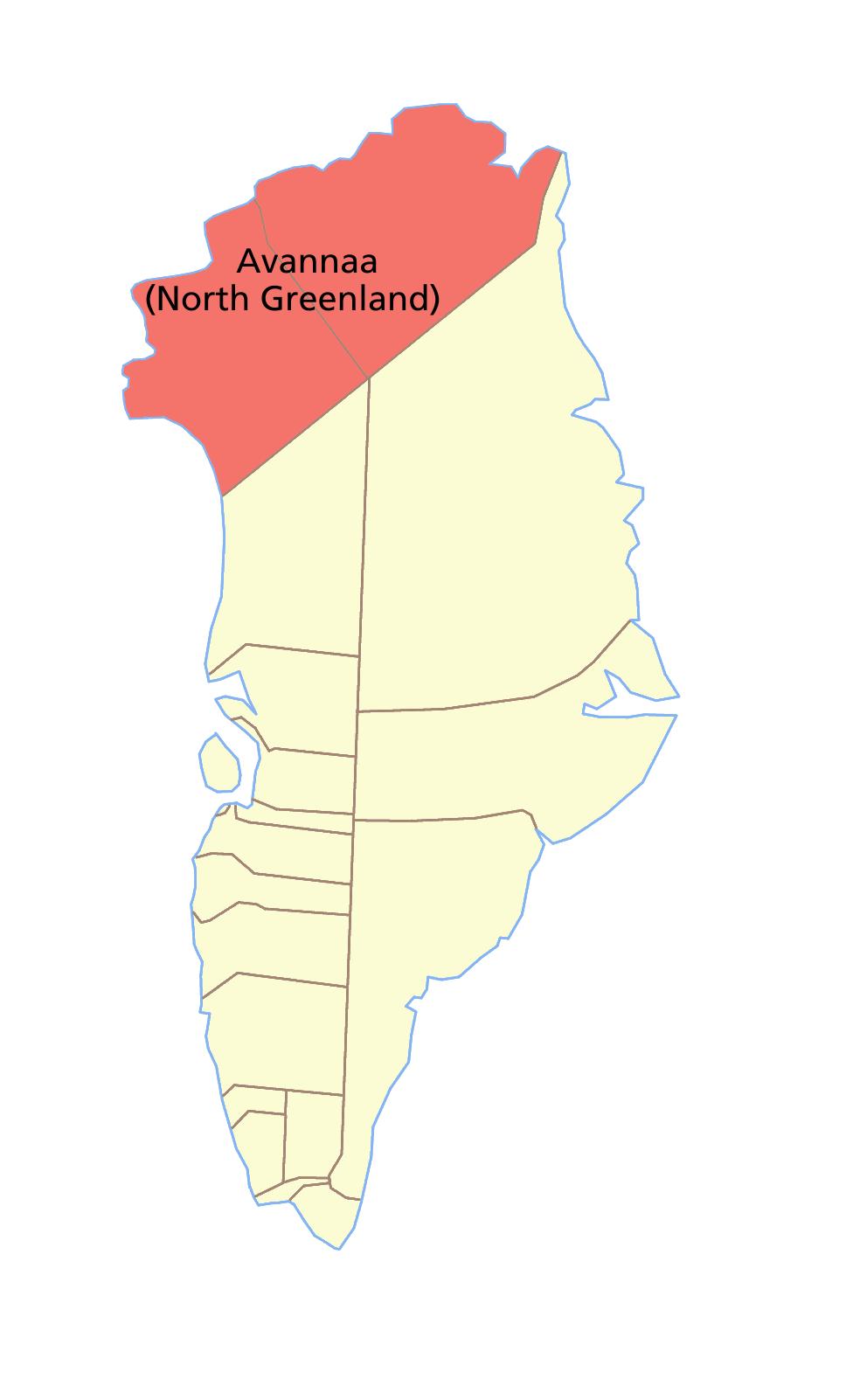Greenland north