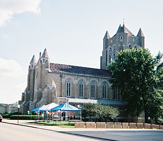 Academy Hill Historic District (Greensburg, Pennsylvania) - Blessed Sacrament Cathedral (1928)