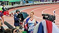 Greg Rutherford's lap of honour (7738553326).jpg