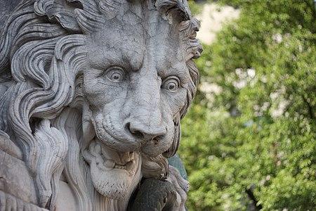 Fontaine au Lion, Grenoble.
