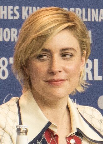 Greta Gerwig - Gerwig at the Isle of Dogs press conference at the 68th Berlin International Film Festival in 2018