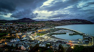 Greystones Town in Leinster, Ireland