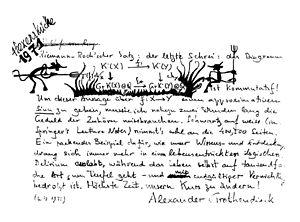 Grothendieck–Riemann–Roch theorem - Grothendieck's comment on the Grothendieck–Riemann–Roch theorem