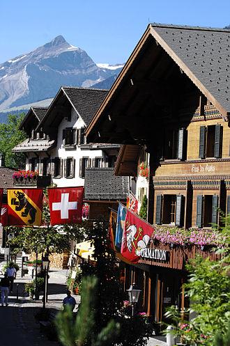 Gstaad - Promenade Gstaad
