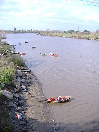 Gualeguaychú River - The river near the city of Gualeguaychú