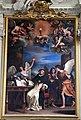 Guercino, san tommaso scrive del santissimo sacramento, 1662, 01.JPG