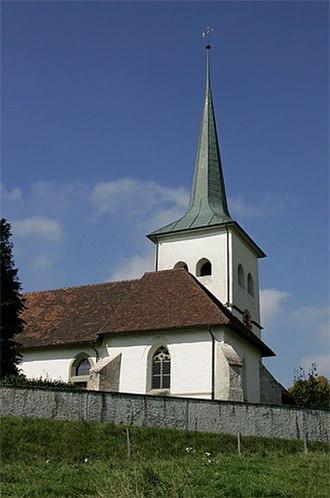 Guggisberg - Guggisberg Swiss Reformed church