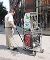 Gum cleaner cart Bwy 70 St jeh.jpg