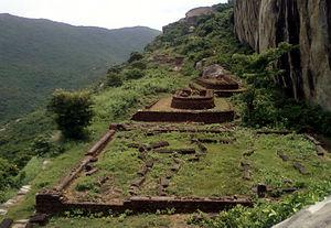 Ramateertham - Gurubhaktulakonda Buddhist Monastery Remnants at Ramateertham