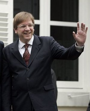 Alliance of Liberals and Democrats for Europe Party - Guy Verhofstadt.