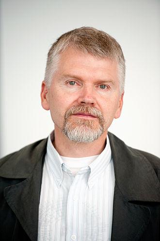 Gyrðir Elíasson - Gyrðir Elíasson, winner of the Nordic Council Literature Prize 2011