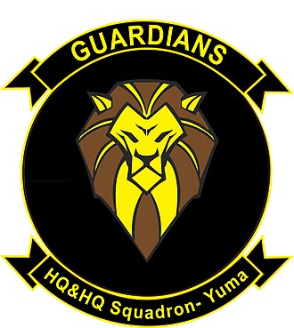 Headquarters and Headquarters Squadron - Image: H&HS MCAS Yuma (2017)