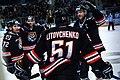 HC Amur Khabarovsk hockey players 2016-01-29.jpg