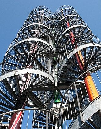 Allermöhe - Observation tower in Neuallermöhe