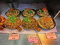 HK 灣仔 Wan Chai 堅拿道西 Canal Road West shop 多多餐廳燒腊飯店 More & More Dor Dor Restaurant 煲仔餸 Cooked pot foods Display Mar-2014 梅菜扣肉煲 n 枝竹羊腩煲 ZR2.JPG