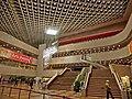 HK Cultural Centre 香港文化中心 interior ceiling lamp n 2 indoor stairs Feb-2013.JPG