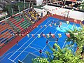 HK Mid-levels Bonham Road 聖保羅書院 Saint Paul's College 開放日 Exhibition Day football court Nov-2011.jpg