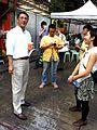 HK Sheung Wan 黃永 Vincent WONG Wing Tai Ping Shan Street Pound Lane escalators talk 27-July-2013.JPG
