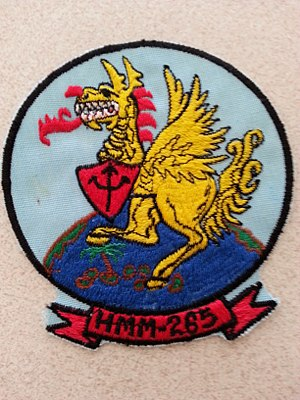 VMM-265 - Image: HMM 265 Squadron Insignia 1977