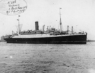 RMS Ausonia - Image: HMS Ausonia FL1241