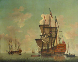 Hugh Pigot (Royal Navy officer, born 1722) - HMS Royal William which Pigot commanded at the capture of Quebec