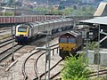 HST and coal train at Bristol Parkway railway station 2006-05-03 01.jpg