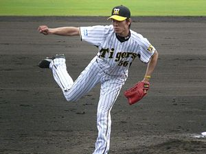 Kenta Abe - Abe with the Hanshin Tigers