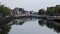 Ha'penny Bridge, Crampton Quay & River Liffey, Dublin (507177) (32706027792).jpg