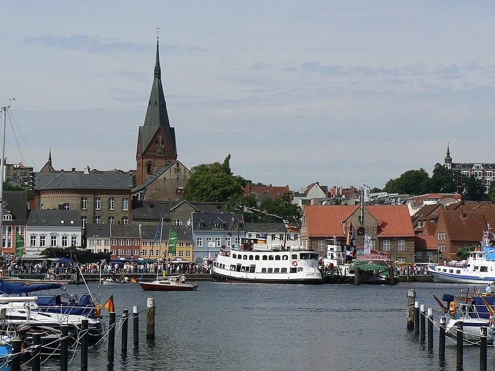 Hafen St Marien Flensburg2007