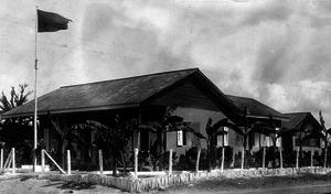 Gendarmerie of Haiti - gendarmerie sub-District headquarters at Gros-Morne, Artibonite pictured in the 1920s