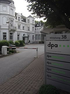 Deutsche Presse-Agentur news agency