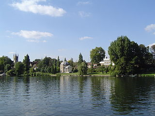 Hampton, London suburban area in the London Borough of Richmond upon Thames in England