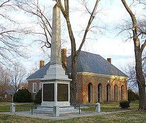 Hanover County Courthouse - Historic Hanover County Courthouse and Hanover Civil War Memorial
