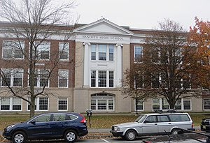 Hanover High School (New Hampshire) - Image: Hanover High NH