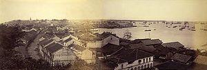 Harbour in Singapore, circa 1870.jpg