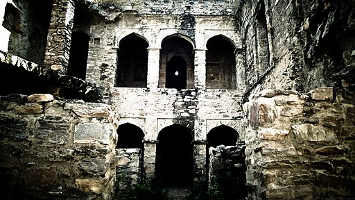 Haunted fort of Bhangarh