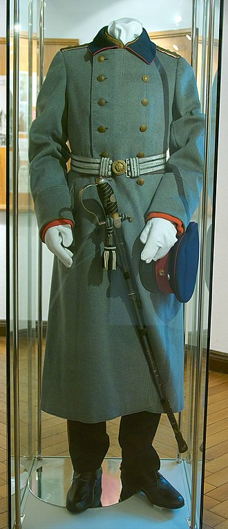 Wilhelm Voigt - Uniform worn by Wilhelm Voigt as the Captain of Köpenick