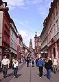 Hauptstrasse Heiliggeistkirche Heidelberg.jpg
