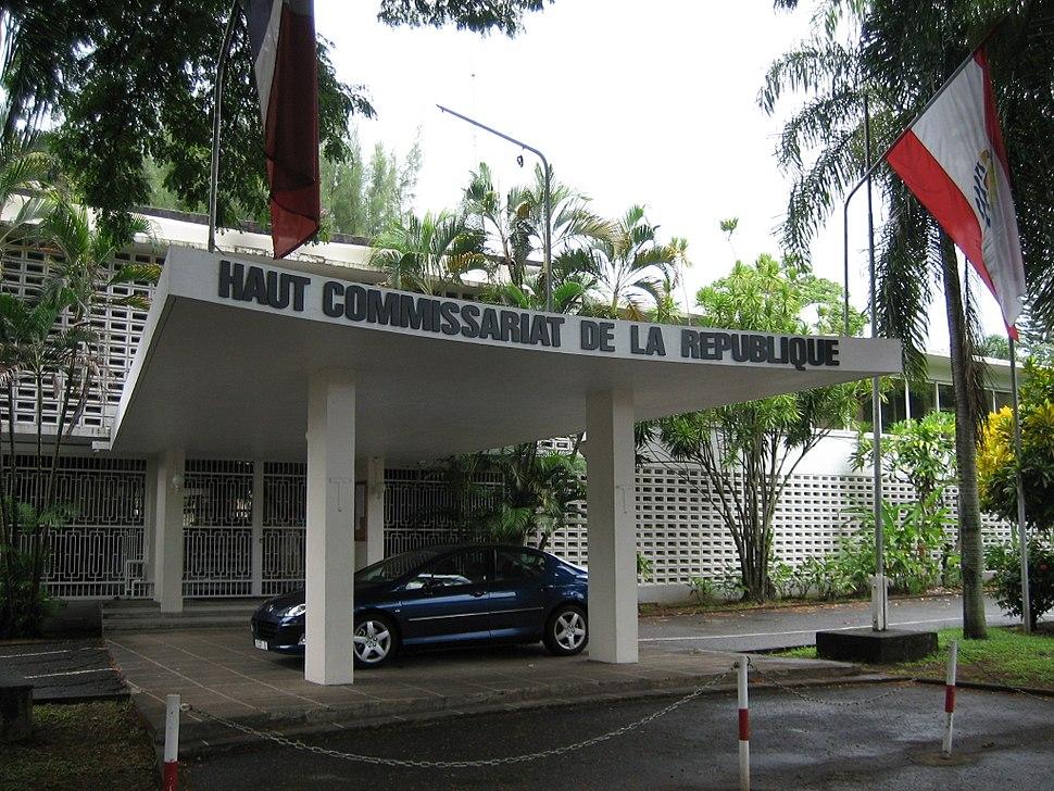 Haut commissariat Papeete