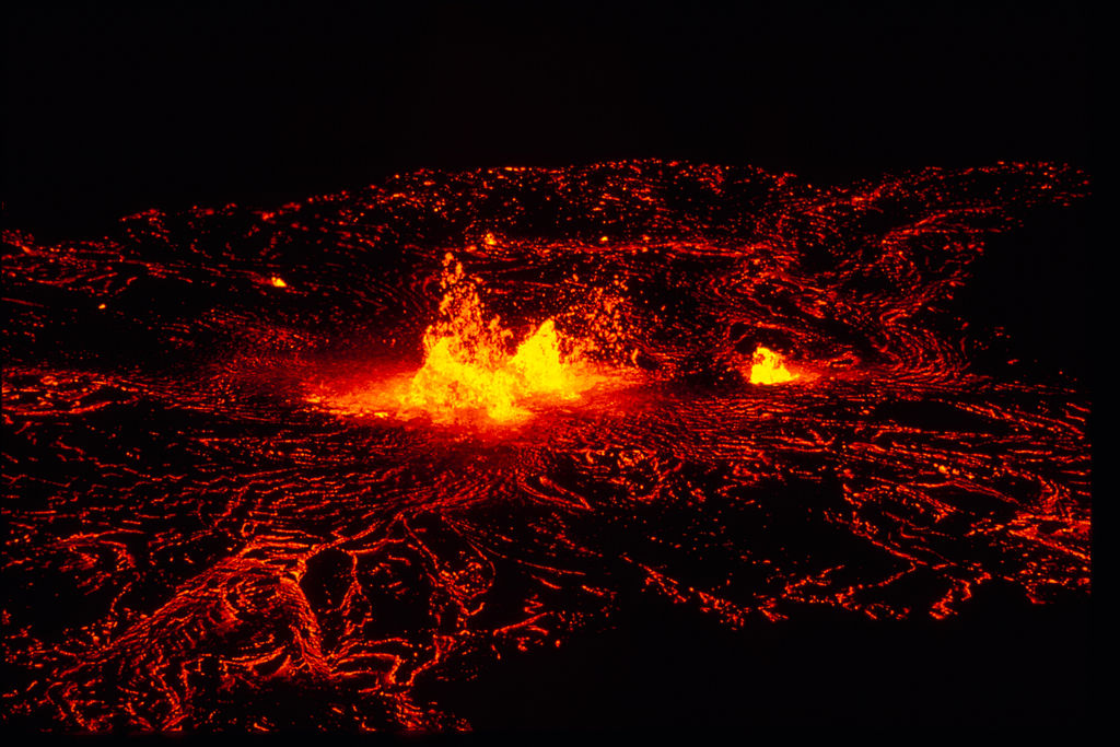 Volcanic Park In Big Island