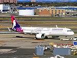 Hawaiian Airlines Airbus A321-271N (A321neo) N202HA at New York-JFK Airport.jpg
