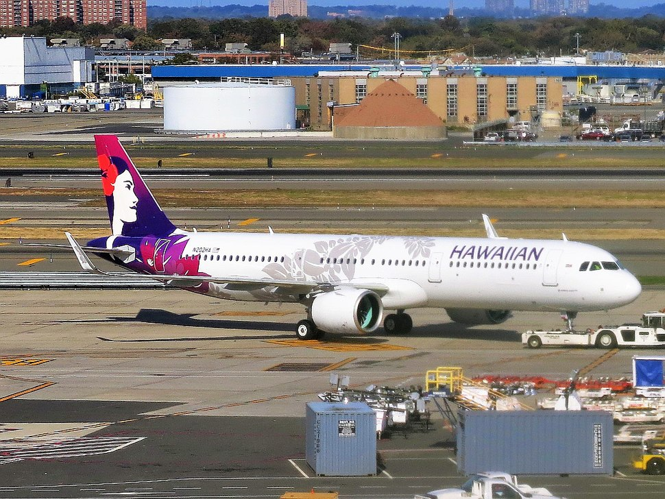 Hawaiian Airlines Airbus A321-271N (A321neo) N202HA at New York-JFK Airport