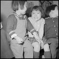 Heart Mountain Relocation Center, Heart Mountain, Wyoming. A beautiful little girl whose parents ar . . . - NARA - 539281.tif