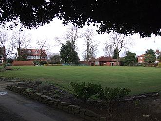 Heaton Moor - Heaton Moor Park: Bowling green