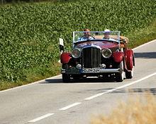 Heidelberg Historic 2015 - Bentley Mark VI 1947 2015-07-11 16-09-08.JPG