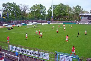Heidewaldstadion - Image: Heidewald fsv guetersloh