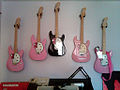 Hello Kitty guitar wall (by tikijohn).jpg