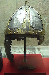 Spangenhelm del (V secolo) - Kunsthistorisches Museum di Vienna