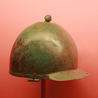 Montefortino helmet - A Roman Montefortino helmet (Carnuntum).
