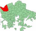 Helsinki districts Kaarela.png